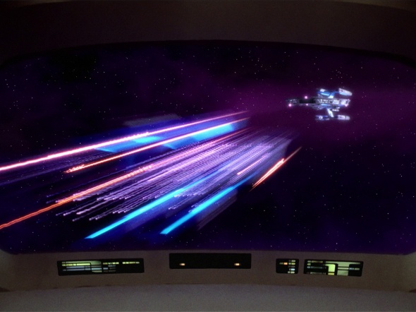 The Federation's new 'Crayola Drive' tests end in spectacular fashion.