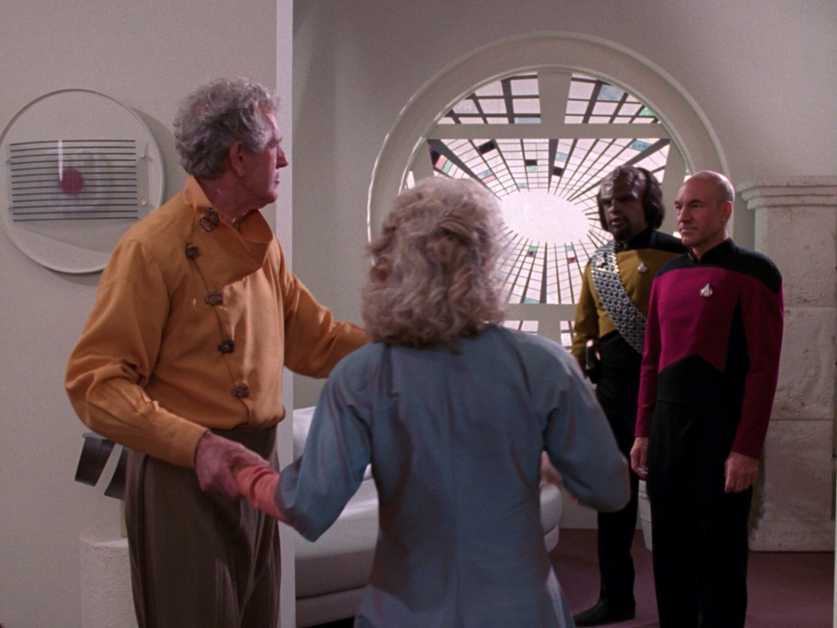 Worf warned Picard that the Okey Cokey was 'without honor'